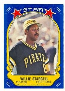 (Willie Stargell baseball card (Pittsburgh Pirates) 1981 Fleer Star #15)