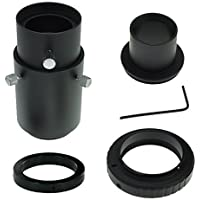 Deluxe Telescope Camera Adapter Kit for Pentax K SLR / DSLR - Prime Focus and Adjustable Projection - Accepts 1.25 Eyepieces