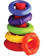 Playgro Sort and Stack Tower Baby Toy, Muiticolour