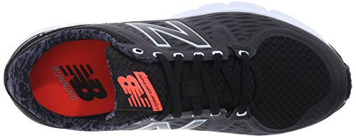 New Balance Womens W775V2 Running Shoe Black/White
