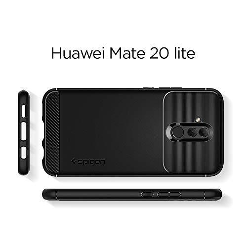 Spigen Rugged Armor Designed for Huawei Mate 20 lite Case (2018) - Black