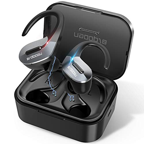BRDOOGU Bluetooth 5.0 Wireless Earbuds,Truly Wireless Sport