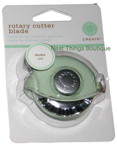 Rotary Deckle Blade in Green Martha Stewart Crafts EK Success