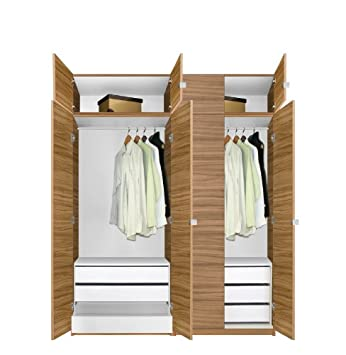 Alta Wardrobe Closet Package   6 Drawer Wardrobe Package   Tall