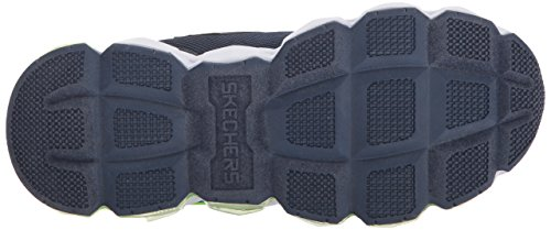 Skechers Boys Turbo-Flash Light Up Sporty Casual Trainers Shoes Blau