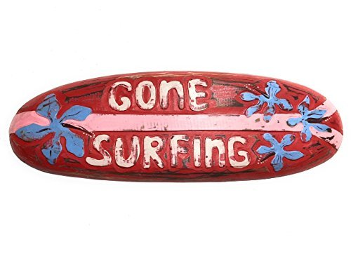 Olga212Patrick SURF DECOR -GONE SURFING SURF SIGN 20