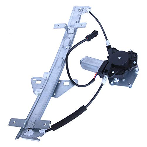 (LAMDA Drivers Rear Left Power Window Lift Regulator with Motor Assembly For 2000-2004 Dodge Dakota 1998-2003 Dodge Durango)