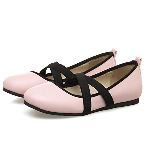 Zanpa Women Ballets Slip Shoes 3 On Pink zz60wrq