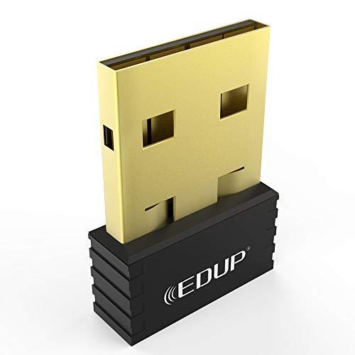 WiFi Adapter USB Wireless Nano Adapter 150Mbps Wireless N Dongle Supports  Windows 10/8/7/Xp/Vista Mac 10 6-10 13 OS