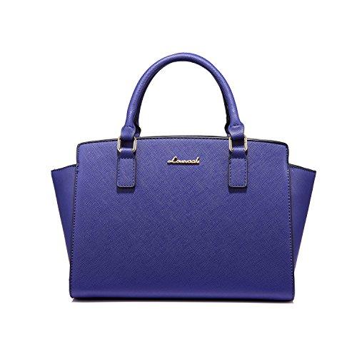 Borsello 2 Pezzi Borsetta Gandi A blu Set Donna Crossbody Bag Mano Blu E Borse Tote HxwAzz
