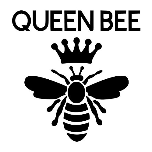 Queen Bee Vinyl Decal Sticker | Cars Trucks Vans SUVs Windows Walls Cups Laptops | Black | 5.5 Inch | KCD2375