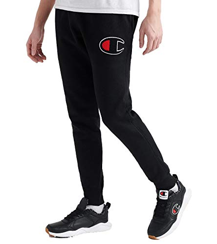Champion Mens Reverse Weave Jogger Black L