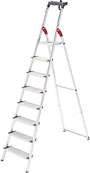 HAILO Escalera de tijera ProfiLine S 150 XXL, 8 escalones: Amazon.es: Bricolaje y herramientas