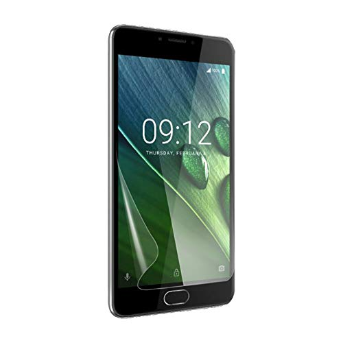 Celicious Vivid Plus Mild Anti-Glare Screen Protector Film Compatible with Acer Liquid Z6 [Pack of 2]