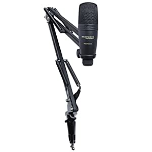 Marantz Professional Pod Pack 1 | Broadcast Boom Arm with Included USB Condenser Microphone