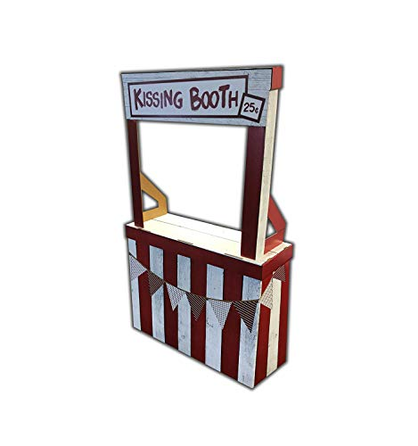 Advanced Graphics Kissing Booth Life Size Cardboard Cutout Standup -