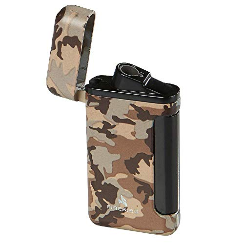 (Colibri Firebird Sidewinder Camo Lighter - Tan)