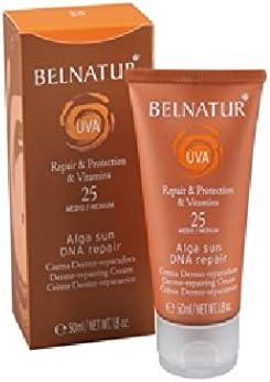 BELNATUR PLOTS ALGA SUN DNA repair 25 high protection 50 ml: Amazon.co.uk:  Beauty