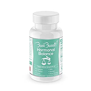 Gut Health Shop 413lgaXjbhL._SS300_ Hormone Balance for Women | Menopause and PMS Relief | Hot Flashes Menopause Relief | Vegan-Friendly