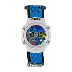 Kids' 80079NB Batman and Joker Silver-Tone Digital Watch