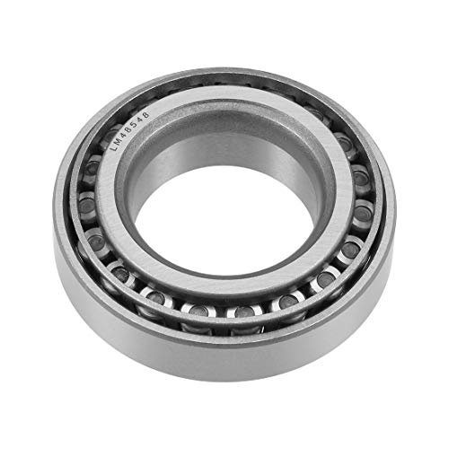 uxcell LM48548/LM48510 Tapered Roller Bearing Cone and Cup Set 1.375