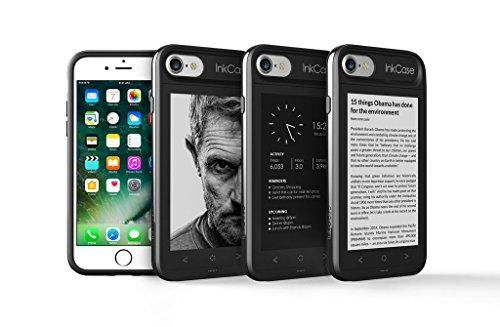 "Oaxis Inkcase i7, 4.3"" E Ink eReader for iPhone 7, Unique Smart Bluetooth Second Screen Case for iPhone 7 with Drop resistant , eBook / News / Pocket / Note"