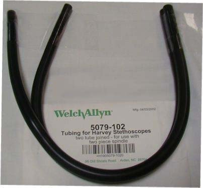 Welch Allyn Tubing - Two tubes Joined for Use with 2 Piece Spindle (Model 5079-102) Instock ()