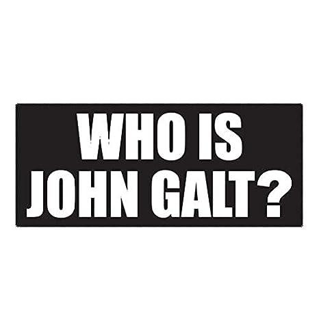 Amazon Com Bax Trading Who Is John Galt Sticker Decal