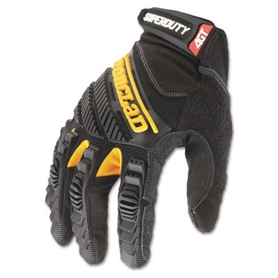 Ironclad SDG2-04-L Super Duty 2 Gloves Silicone Fused Palm Oil Gas Drilling Mens (Super Duty Gloves)
