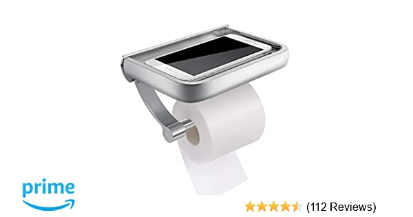 Toilet Paper Holder : Amazon.com: homemaxs toilet paper holder anti rust aluminum toilet