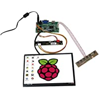 Wearson 8.9 Inch 1920x1200 IPS LCD Panel Screen High Resolution 16:10 Display With HDMI & VGA Driver Board Keyboard Kit For Raspberry Pi&PC Device&Multimedia Applications,etc