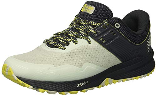 New Balance Women's Nitrel V2 FuelCore Trail Running Shoe Ocean air/Thunder/Limeade 5.5 B US by New Balance (Image #1)