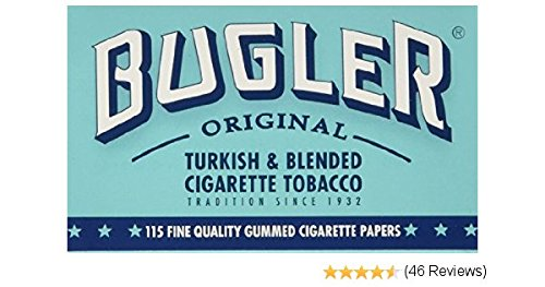 Bugler Single Wide 70 mm Cigarette Rolling Papers