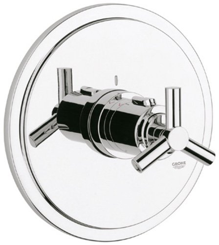 Atrio Single-Handle Thermostat Valve Trim Kit with Cross Handle