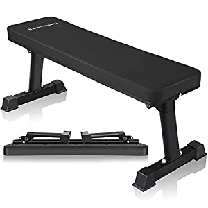 BangTong&Li Flat Weight Bench Utility Workout Exercise Training Equipment for Fitness