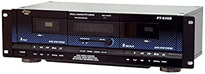 Pyle Home PT649D Dual Cassette Deck from Sound Around