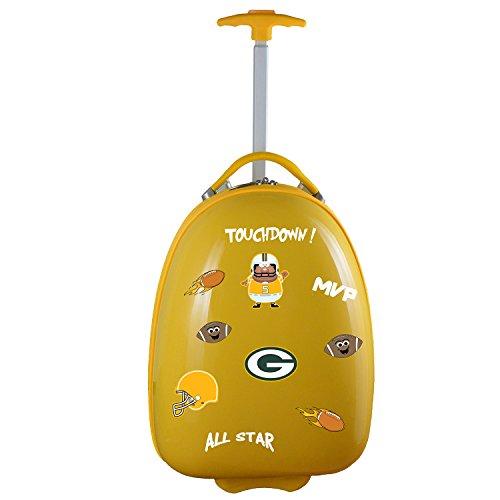 Denco NFL Green Bay Packers Kids Lil' Adventurer Luggage Pod from Denco
