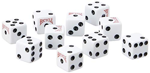 - Bicycle Dice 10 Pack