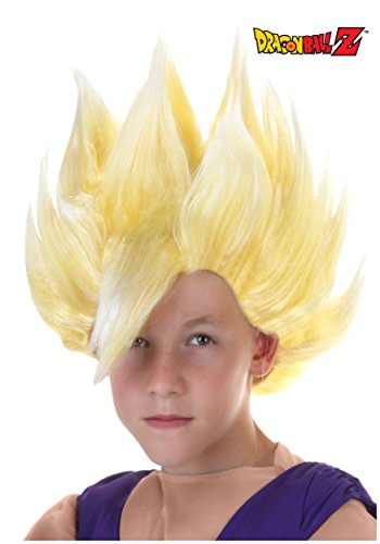 Fun Costumes Child Gohan Wig - (Saiyan Halloween Costume)