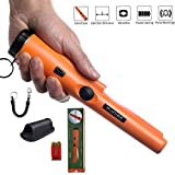 PUDIBE Metal Detector pinpointer for Kids and Adults Include a 9V Battery with Belt Holster