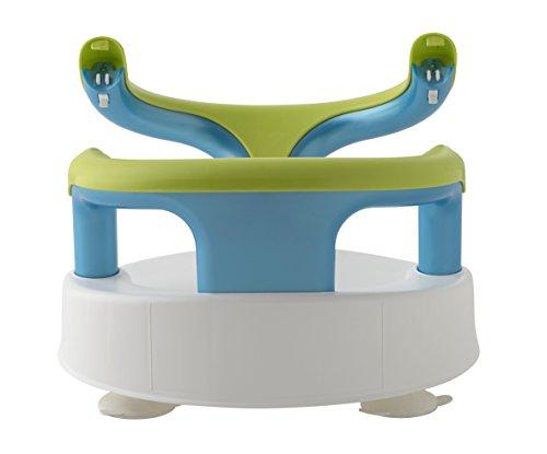 White//Apple Greeen Rotho Babydesign Aquamarine Baby Bath Seat