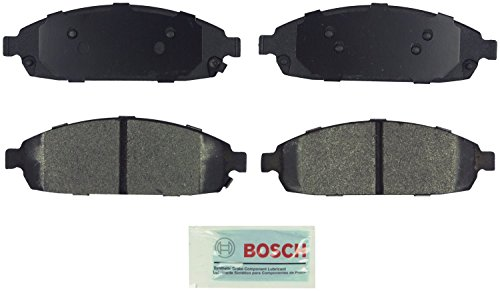 Bosch BE1080 Blue Disc Brake Pad Set for Jeep: 2006-10 Commander, 2005-10 Grand Cherokee - FRONT