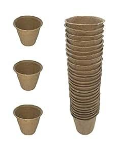 30unidades), diseño de macetas de turba, semillas semillas, PARTIDA macetas biodegradables