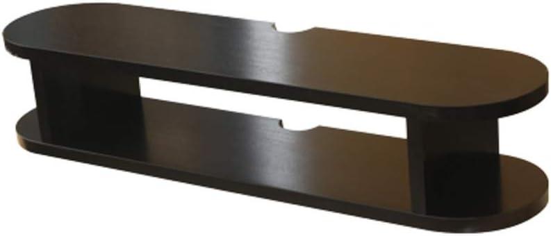 XINGPING-Shelf Set-Top Box Rack Gabinete de TV montado en la Pared Gabinete de Pared Plano pequeño (Color : Negro, Tamaño : 100 * 20 * 16cm): Amazon.es: Hogar
