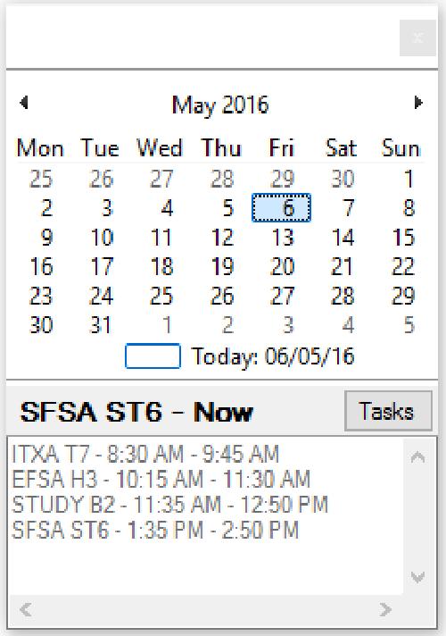 Calendar Tray Icon [Download]