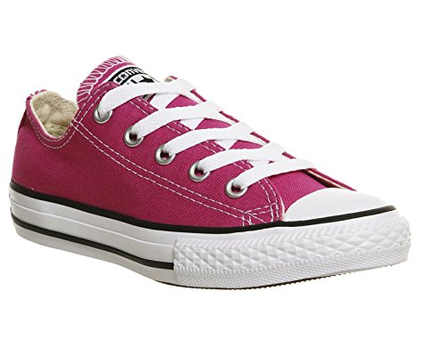 Converse Chuck Taylor All Star Wash Neon Ox, Baskets mode mixte enfant Plastic Pink