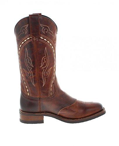 Sendra Boots Laarzen Desna / Sendra 14339 / Bruine Western Rijlaarzen Met Thinsulate Isolatie / Mr Laarzen Tang Marron