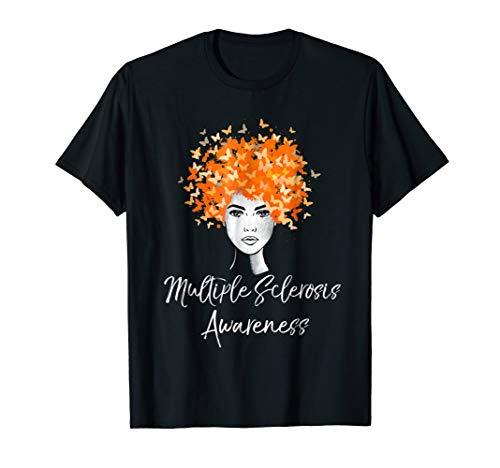 Ms Awareness Shirts (Multiple Sclerosis Awareness T-Shirt MS Butterflies)