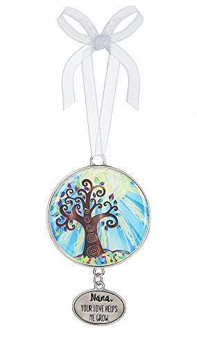 (Tree of Life Nana Your Love Helps Me Grow 3 Inch Hanging Ornament)