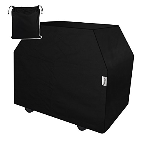 HOMMAYS Heavy Duty Grill Cover 60 inch waterproof UV Resistant Rip Stop Durable Polyester Patio Outdoor Bbq Cover